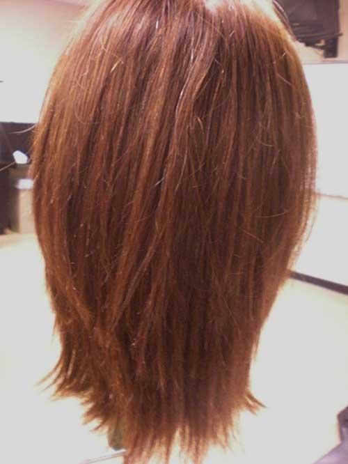 Amazing 15 Long Bob Haircuts Back View Bob Hairstyles 2015 Short Short Hairstyles Gunalazisus