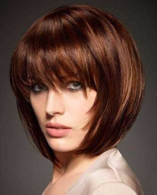Best Medium Bob Hair with Bangs