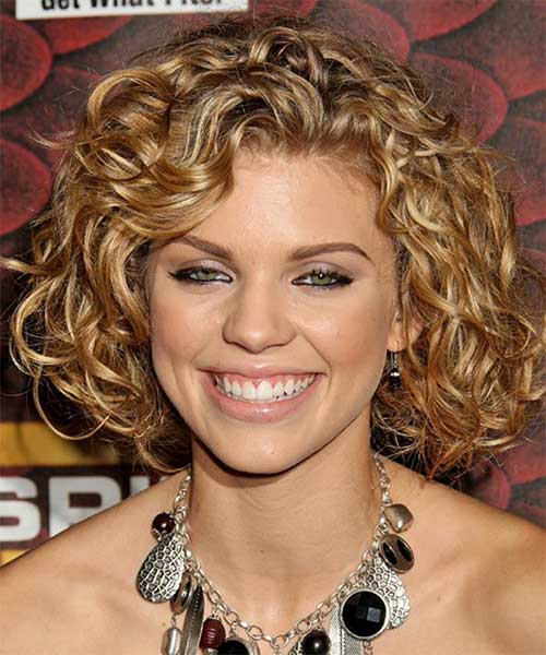 Medium Curly Bob Hairstyles