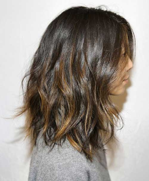 Brown Ombre Long Bob