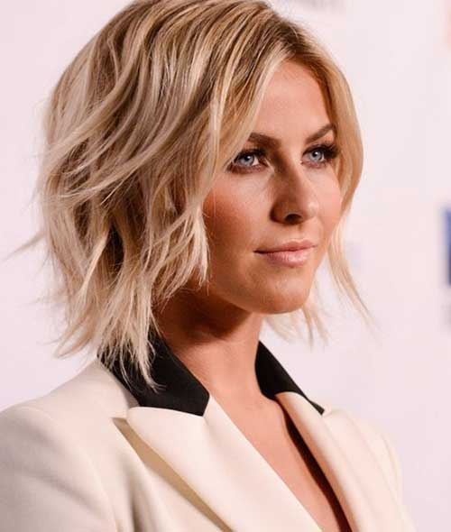 Pics Of Wavy Blonde Bob Hairstyle