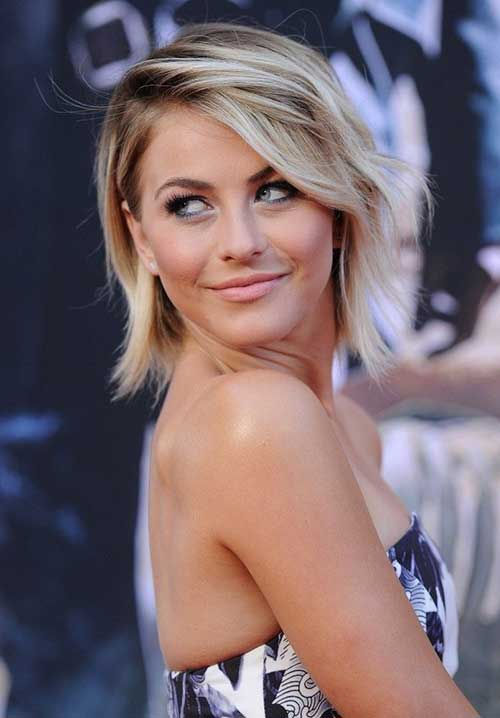Julianne Hough Pictures Of Layered Bobs