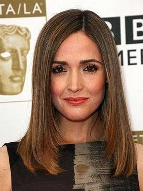 Rose Byrne Long Brown Bob