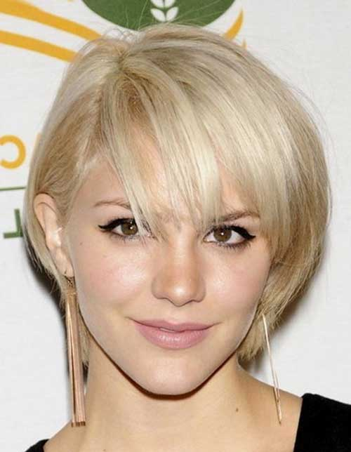 Short Blonde Bob for Thin Hair