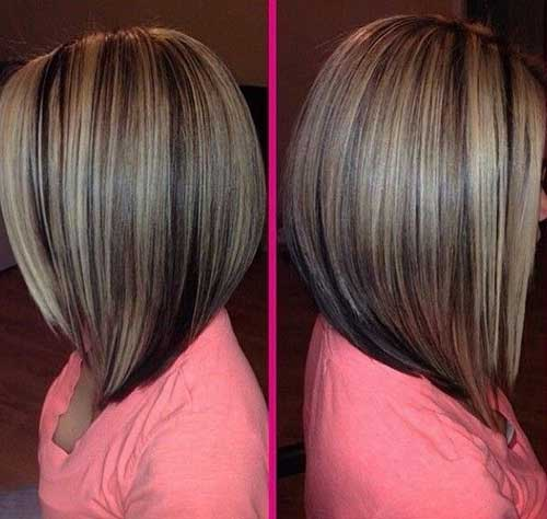 Tremendous Inverted Bob Hairstyles Medium Length Hair Best Hairstyles 2017 Hairstyles For Men Maxibearus
