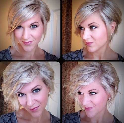 Beautiful Short Bobbed Hairstyles
