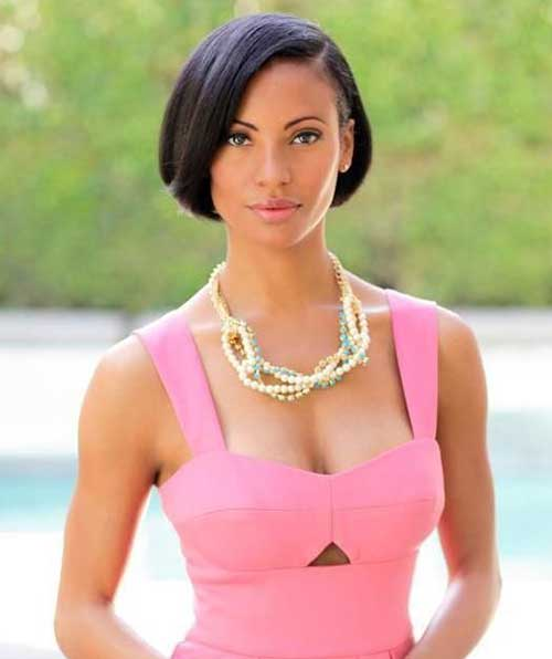 Surprising 30 Best Bob Haircuts For Black Women Bob Hairstyles 2015 Short Hairstyle Inspiration Daily Dogsangcom