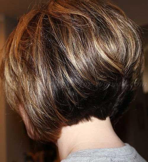 Stacked Bob Layered Haircut