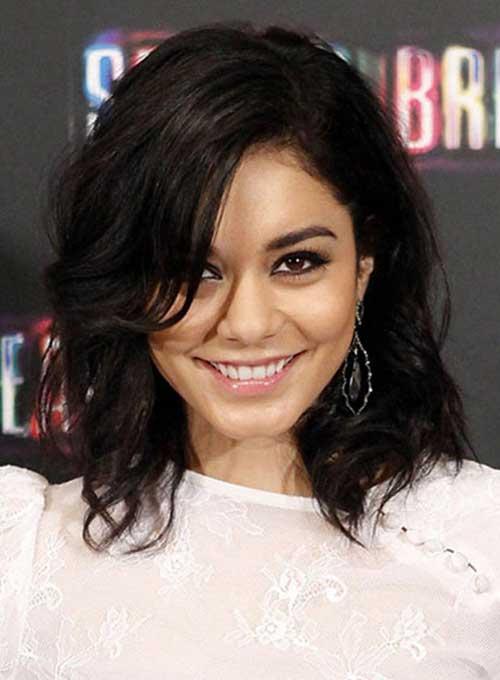 Vanessa Hudgens Brunette Hairstyles