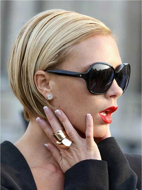 Victoria Beckham Blonde Bob Haircut