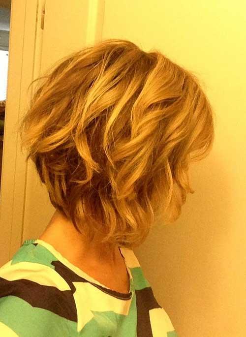 Best Wavy Bob Haircuts 2014-2015