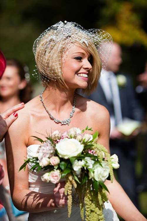 Best Wedding Hairstyles for Short Hair Bob