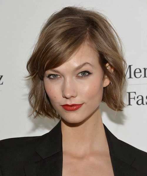 Ash Blonde Bob Hairstyles with Bangs