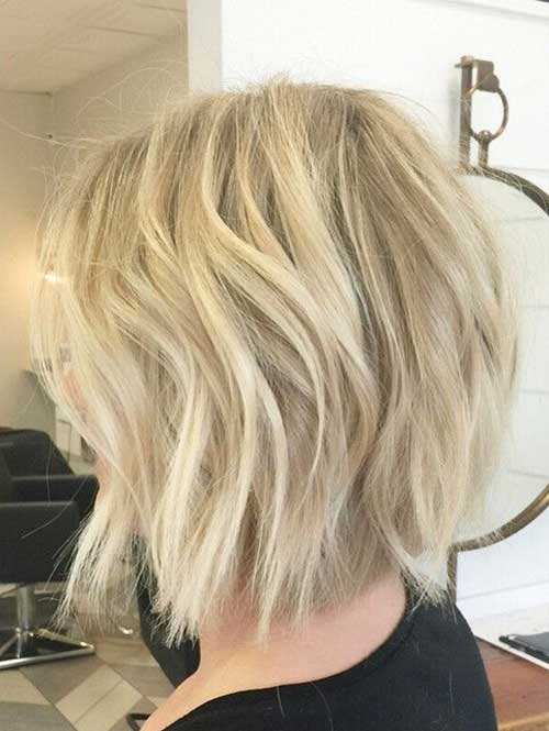 Balayage Blonde Bob Style