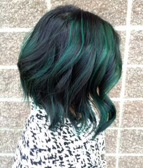 Best Bob Hairstyles Green Hair Color