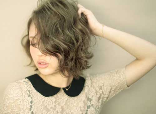 Best Curly Brown Bob Hairstyles