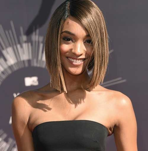 Best Fine Straight Brown Hair Bob Hairstyles