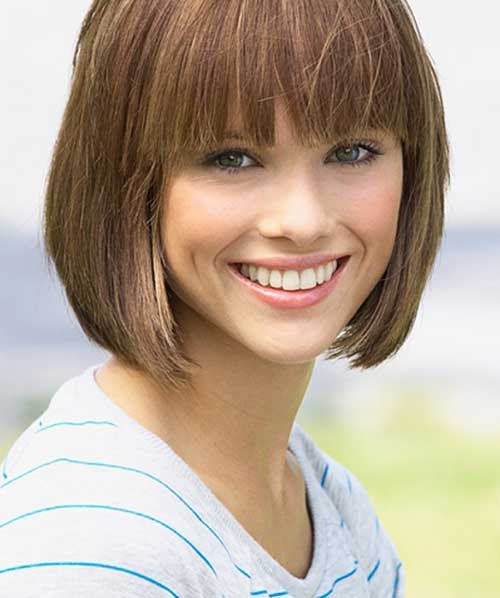 Best Straight Bob Hairstyles with Bangs