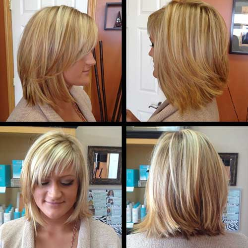 Bob with Blonde Balayage Ideas