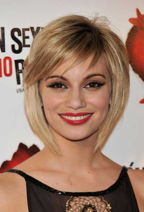 Celebrity Bob with Nice Color Hairstyles 2014-2015