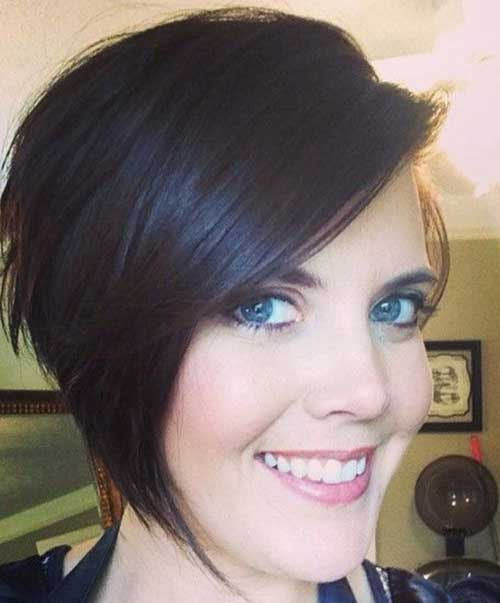 Chic Asymmetrical Bob Hairstyles