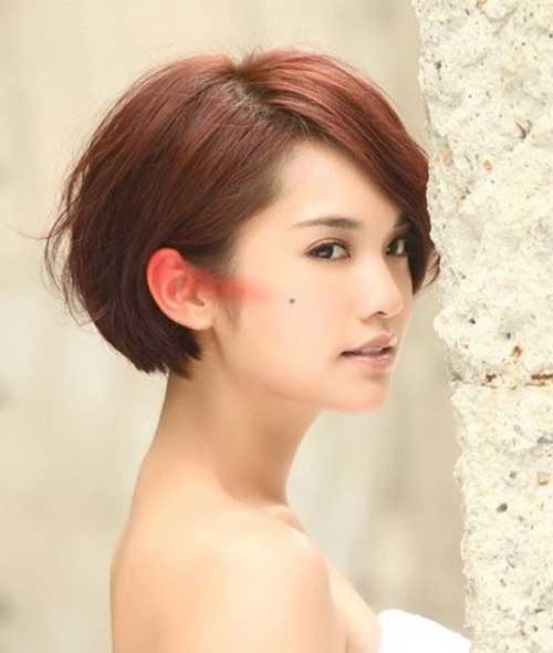 Chinese Short Bob Hairstyles 2014-2015