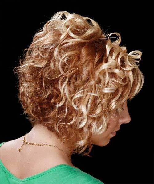 Curly Bob Cut Hairstyle Ideas Pictures