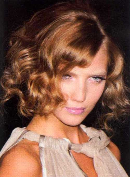 Curly Long Bob Hairstyles Images