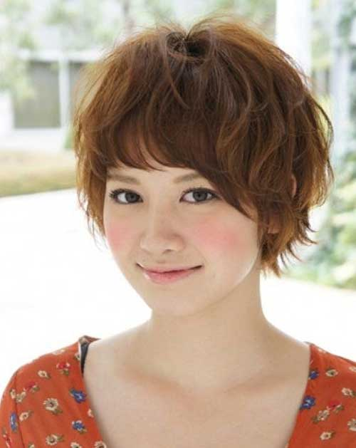 For Japanese Girls Bob Haircuts with Bangs