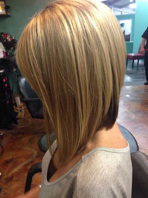 Blonde Inverted Bob Haircuts