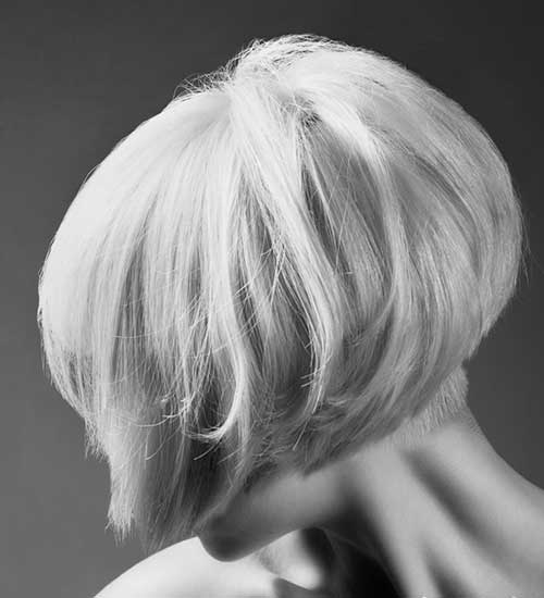 Inverted Thick Bob Hair Images