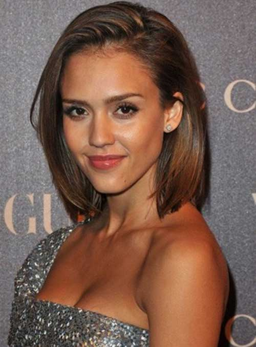 Jessica Alba Haircut Line Bob Idea