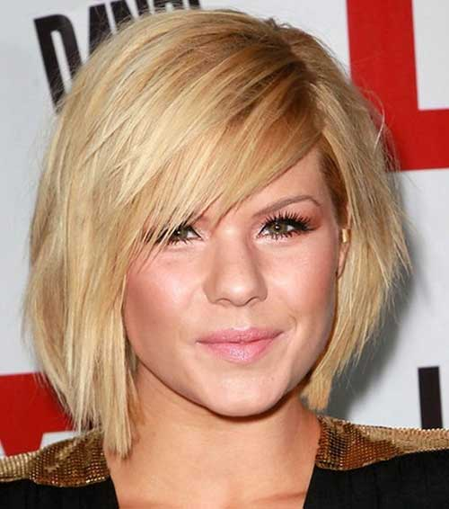 Short Bob Haircuts Round Faces Hairstyles