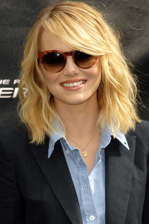 Fine 10 Long Bob Haircuts For Round Faces Bob Hairstyles 2015 Short Hairstyles For Women Draintrainus