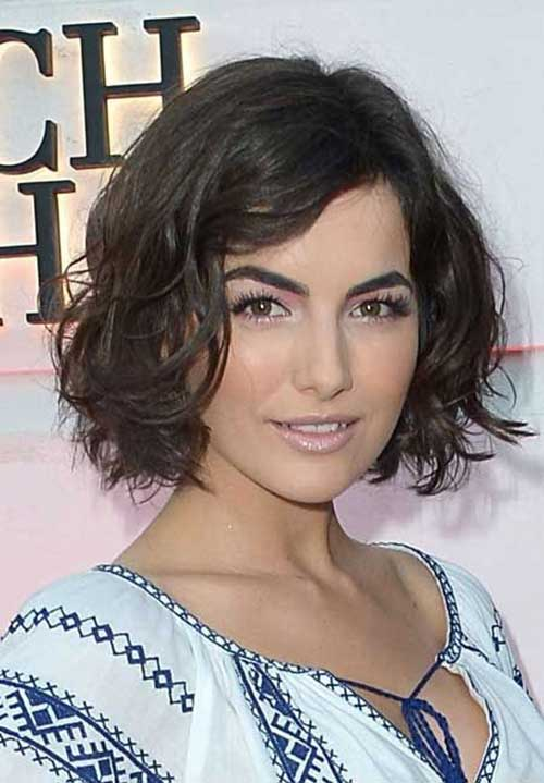 Long Wavy Bob Hairstyle For Round Face