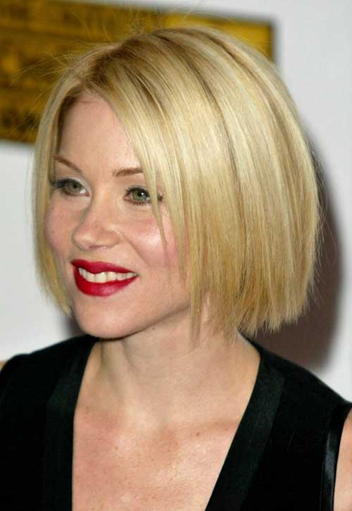 New A Line Blonde Bob Hairstyles