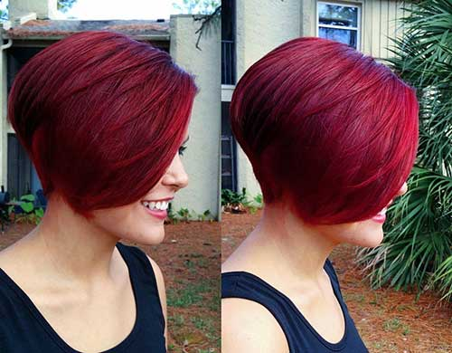 New Red Bob Hairstyles Ideas