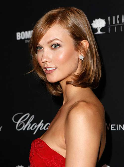 Nice Celebrity Bob Hairstyles 2014