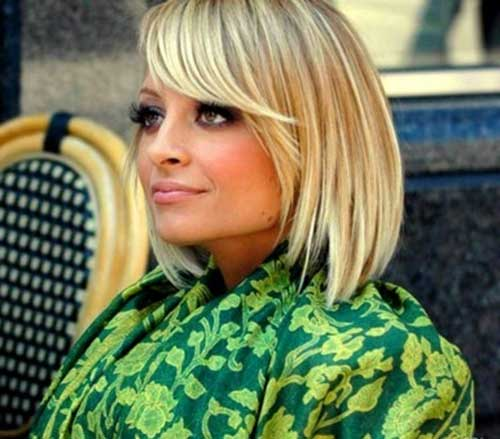 Nicole Richie Bob Hair with Bangs