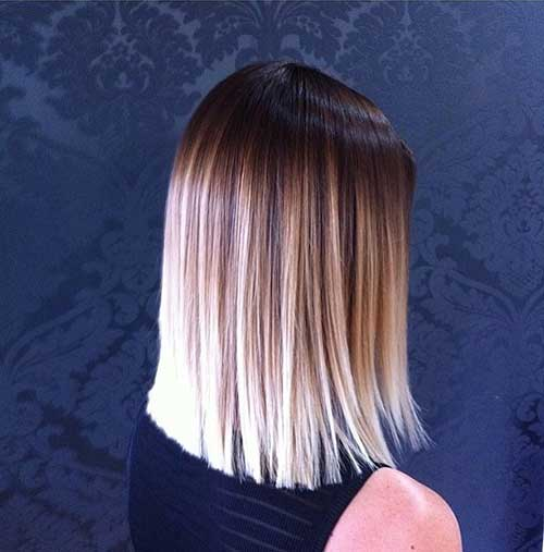 Blonde Ombre Hair Long Bob