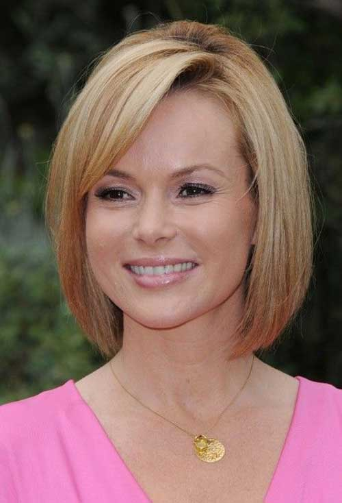 Pics of Chin Length Bob Haircuts