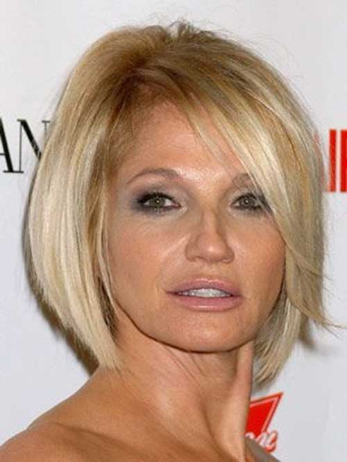 Short Blonde Bob Cut Hairstyle Pictures