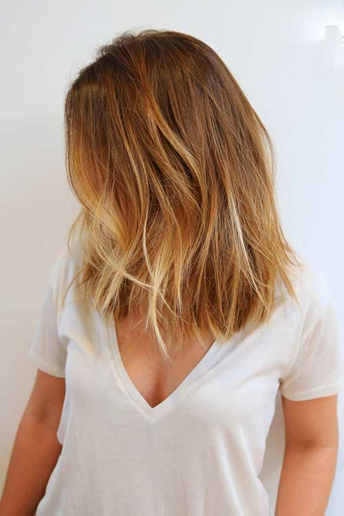 Short Bob Blonde Balayage