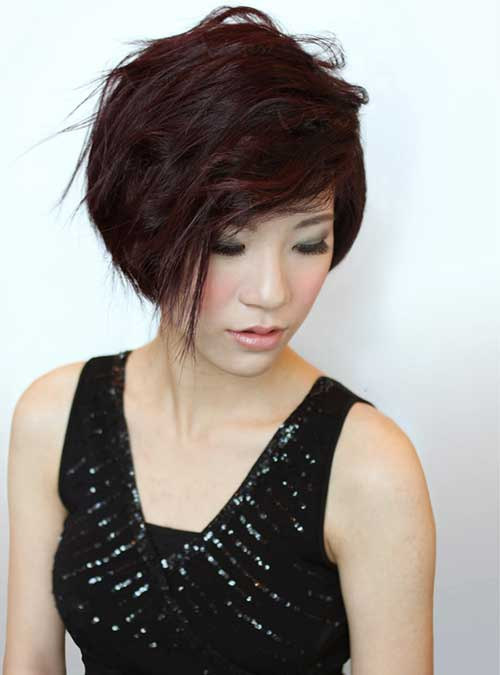 Layered Short Chinese Bob