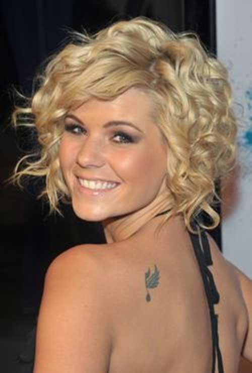 Short Curly Bob Hairstyles Image