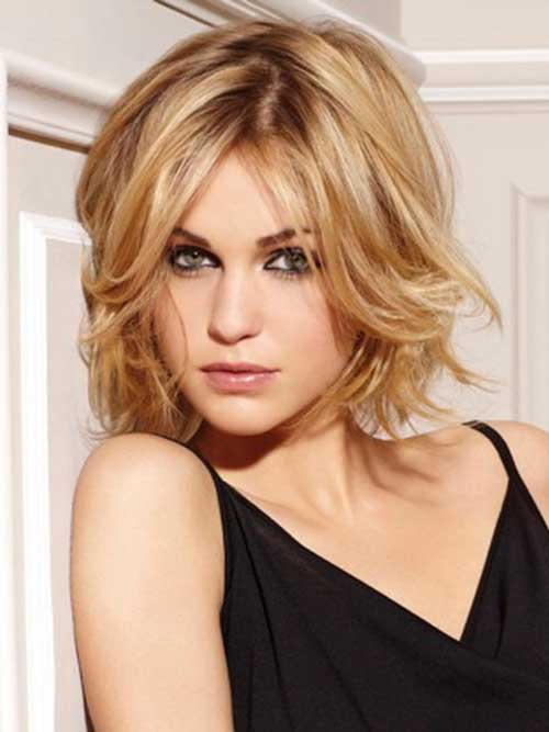 Short Cut Best Wavy Bob Hair Styles