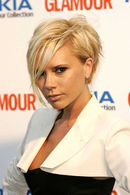 Victoria Beckham With Blonde Hair 66