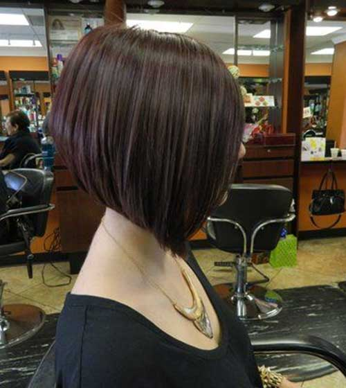 Aline Dark Bob Cut