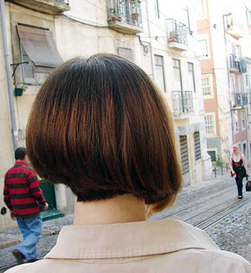 Back View Of Inverted Bob Haircuts