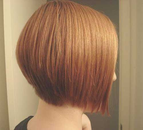 Back View Of Straight Bob Haircuts